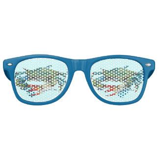 Blue Crab Retro Sunglasses