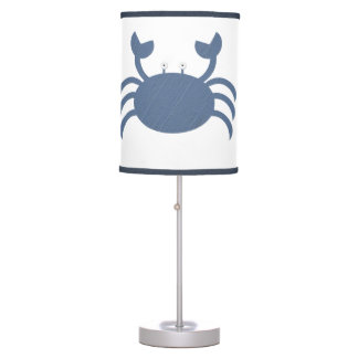 Blue Crab Table Lamp