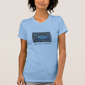 """Blue Crabby"" T Shirts"