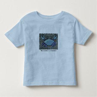 Blue Crabby  Toddler Shirt