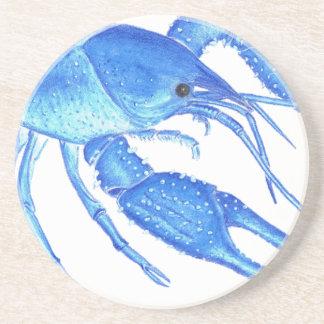Blue Crawfish Coaster