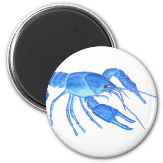 Blue Crawfish Magnet
