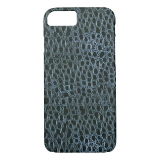 Blue Crocodile Pattern iPhone 7 CASE