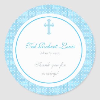 Blue Cross Address Label/Favor Sticker