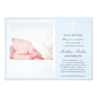 BLUE CROSS | BAPTISM INVITATION