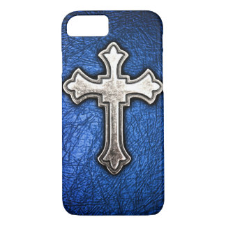 Blue Cross iPhone 7 Case