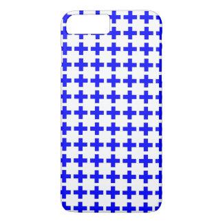 Blue cross Iphone case