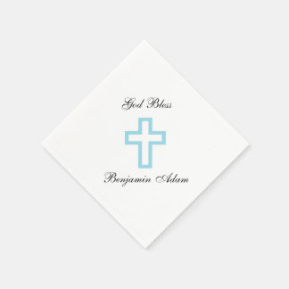 """Blue Cross"" Napkins"