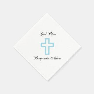 """Blue Cross"" Napkins Disposable Napkins"