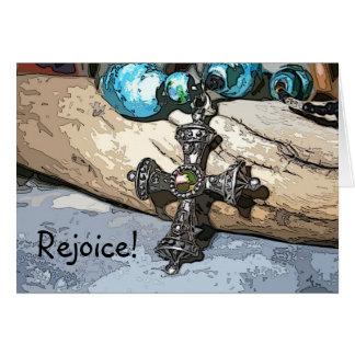Blue Cross Rejoice Card