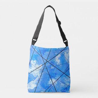 Blue Crossbody Bag Powerlines in a Carolina Sky