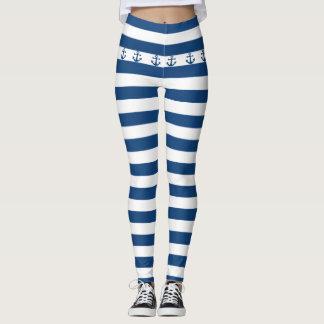 Blue Cruise Leggings