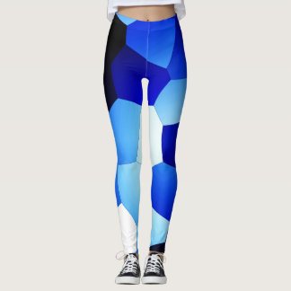 Blue Crush! Leggings