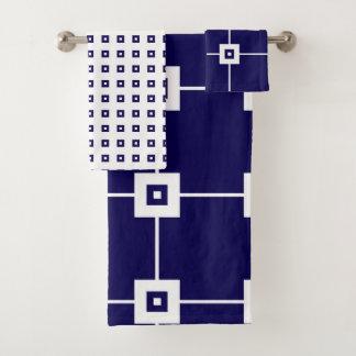 Blue Crush No. 4   Bathroom Towel Set