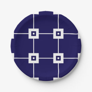 Blue Crush No. 4 Paper Plate
