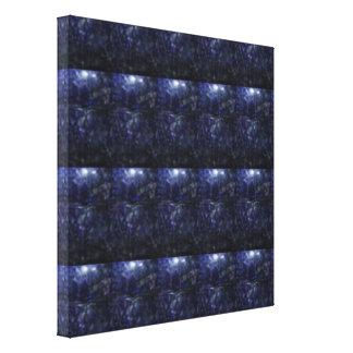 BLUE CRYSTAL Energy : Vintage TEMPLE WALL ART