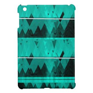 Blue Crystal Ice Mountain Pattern iPad Mini Case