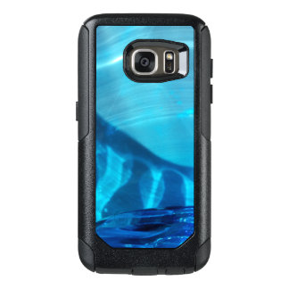 Blue Crystal Swirl Design Otter Box for Samsung