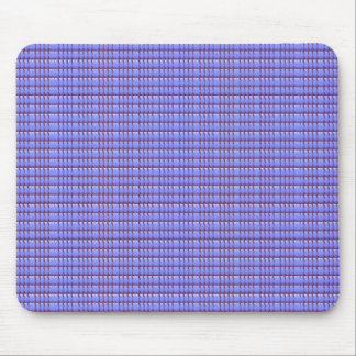 BLUE Crystal Template Mouse Pad