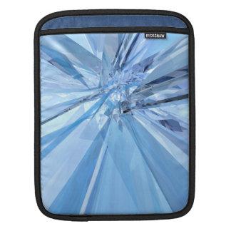Blue Crystals iPad Sleeve
