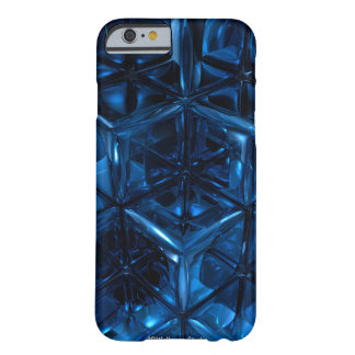 Blue cubes Case Barely There iPhone 6 Case