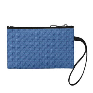 Blue Cubes patterned Coin Purse
