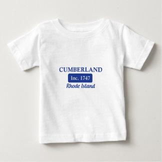 Blue Cumberland Rhode Island Baby T-Shirt
