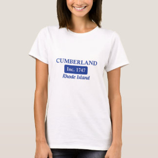 Blue Cumberland Rhode Island T-Shirt