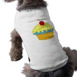 Blue Cupcake Doggie Tee