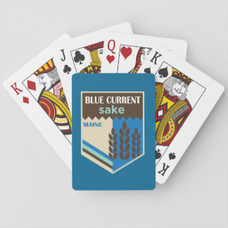 Blue Current Brewery - Rice Badge Playing Cards