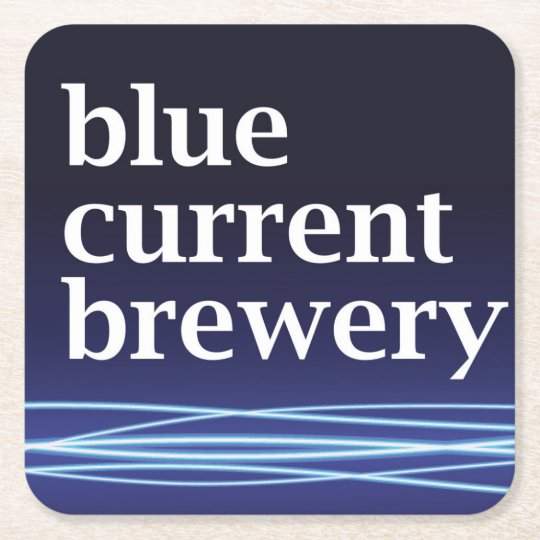 Blue Current Brewery - Six Coasters