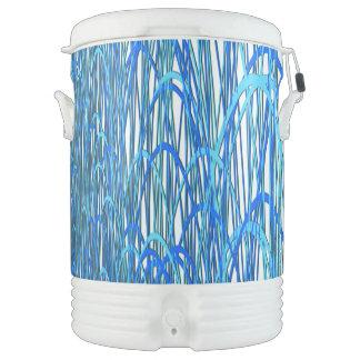 Blue Curves Drinks Cooler