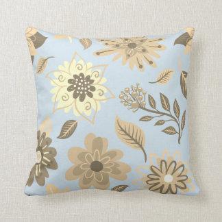 Blue cushion Flowery Soft Spring