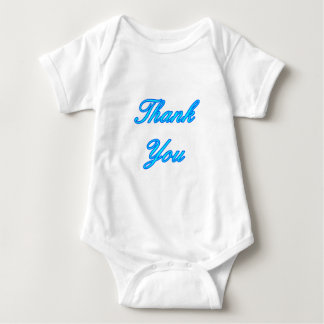 Blue Cyan Thank You Design The MUSEUM Zazzle Gifts T Shirts