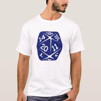 Blue d20 T-Shirt