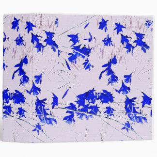 Blue Daffodils Wildflowers Avery Binder