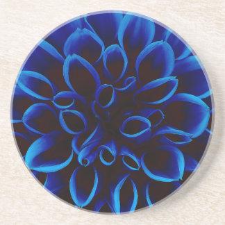 Blue Dahlia Coaster