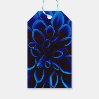 Blue Dahlia Gift Tags