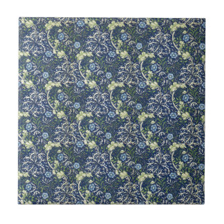 Blue Daisies by William Morris Tile