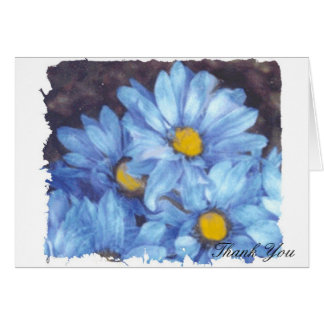 """""""Blue Daisies"""" Card"""