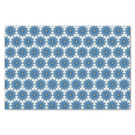 Blue Daisies Tissue Paper
