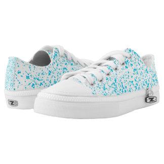 Blue Dalmatian Low Tops