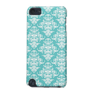 Blue damask vintage wallpaper pattern iPod Touch iPod Touch 5G Covers