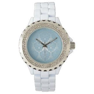 Blue Damask Watches