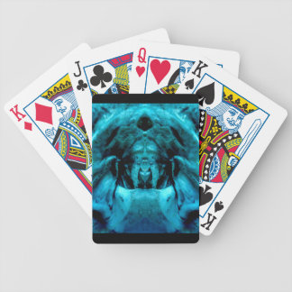 blue dämon bicycle playing cards