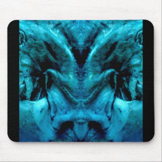 blue dämon mouse pad