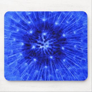 Blue Dandelion Mousepad
