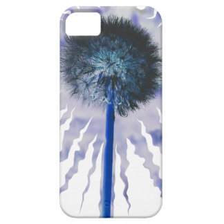 Blue Dandelion Puff iPhone 5 Cover
