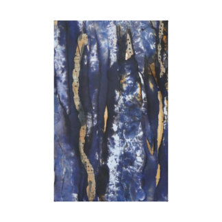 Blue Dawn Fugue Canvas Print