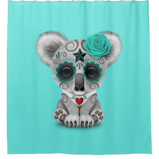 Blue Day of the Dead Baby Koala